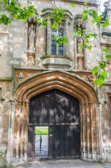 St John's College, Oxford, The college entrance on St Giles
