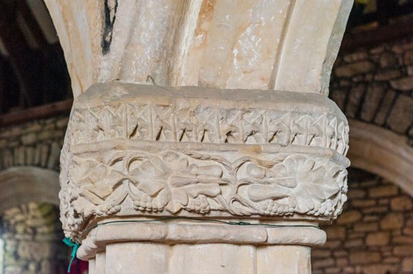 15th century carved capitals