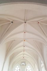 The chancel vaulting