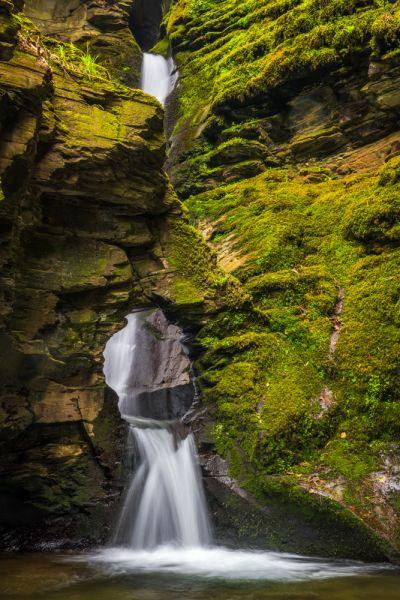 St Nectan S Glen Waterfall Amp Hermitage Cornwall History
