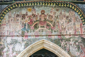 Medieval Doom wall painting, St Thomas church