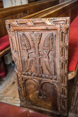 Another of the 16th century bench ends