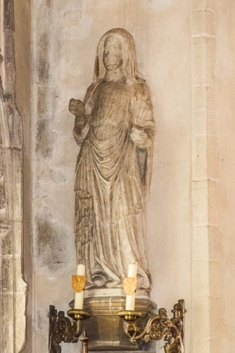 1330 statue of Our Lady