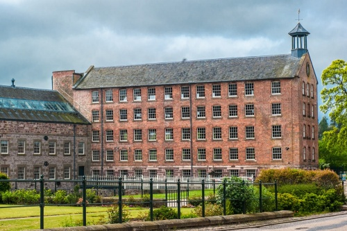 The north range at Stanley Mills