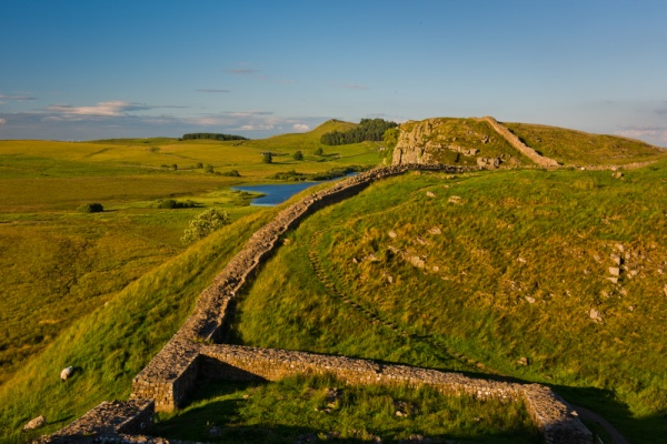 Hadrian's Wall near Steel Rigg, Northumberland National Park