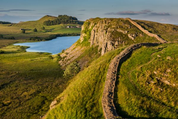 Hadrian's Wall photo, Whinshields Crag