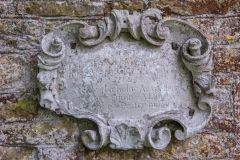 Memorial tablet to Richard Stevens, 1728