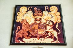 George I coat of arms, 1726