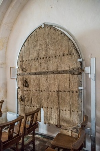 The 1354 oak door