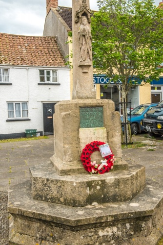 The village war memorial