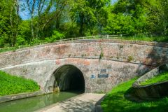 The Blisworth Tunnel opening