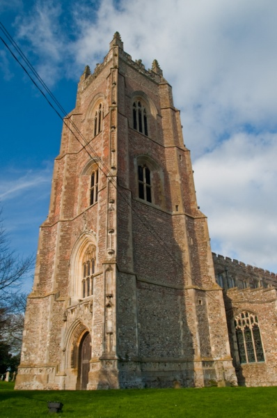 St Mary's church west tower