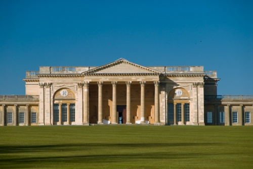 The South Front of Stowe House, from a design by Robert Adam