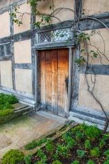 Shakespeare's Birthplace, The rear door and garden
