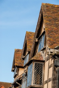 Gabled roof of Shakespeare's Birthplace