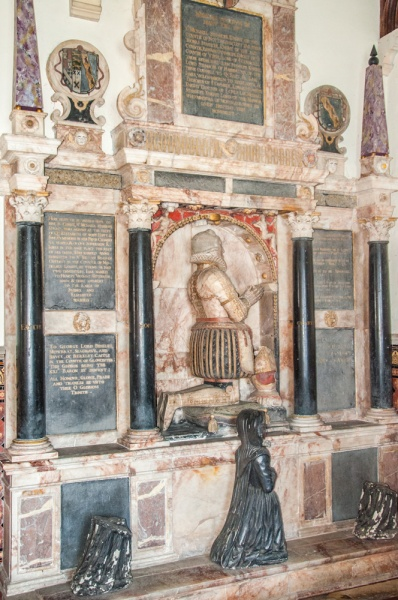 Memorial of Sir Michael Stanhope, d. 1621