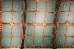 Sudbury, St Peter's Church, The ornate chancel ceiling