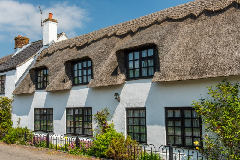 Thatched cottage in Sutton, Norfolk