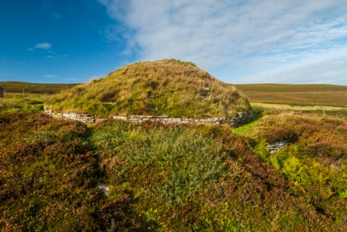 Taversoe Tuick Chambered Cairn