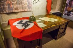 Keep Military Museum of Devon and Dorset, Hitler's desk from the Chancellory in Berlin