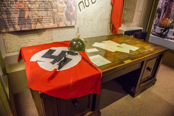Keep Military Museum of Devon and Dorset photo, Hitler's desk from the Chancellory in Berlin