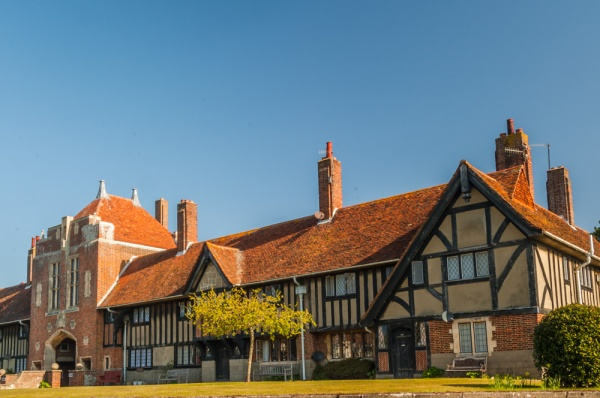 The Almshouses in Thorpeness