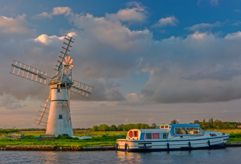 Thurne Dyke Drainage Mill