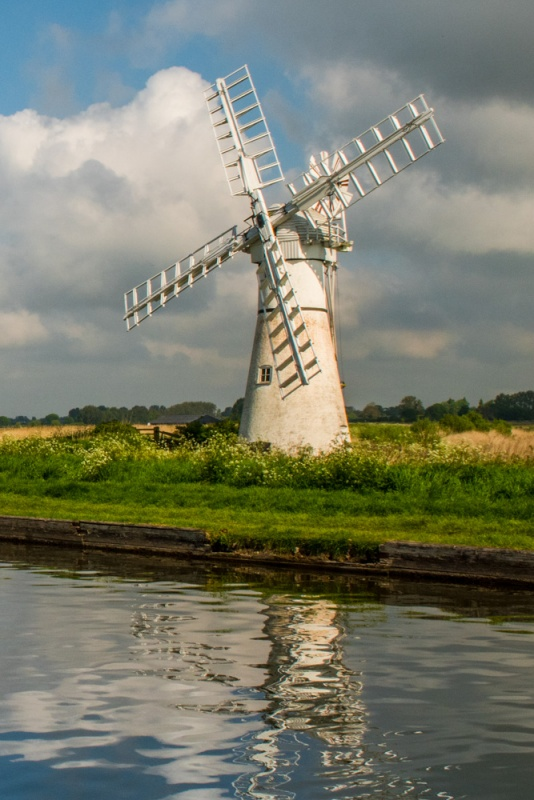 Thurne Mill from the Dyke