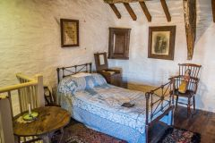 Tintagel Old Post Office, The north bedroom
