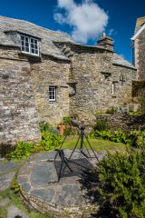 Tintagel Old Post Office, The well in the rear garden