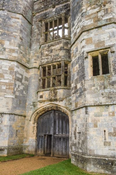 Titchfield Abbey photo, The Tudor gatehouse entrance