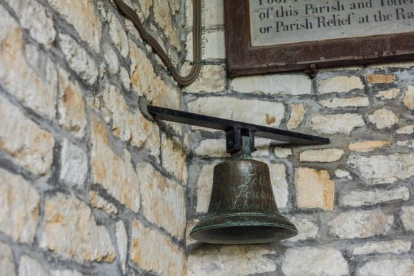 Toller Porcorum, St Andrew & St Peter Church photo, The old village school bell