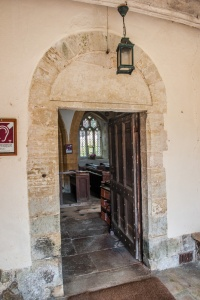 The 13th century doorway