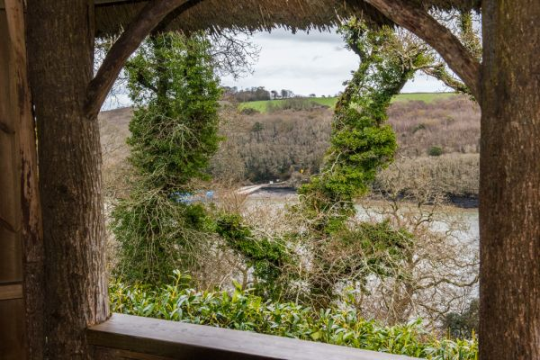 Trelissick Garden photo, The view over King Harry Ferry