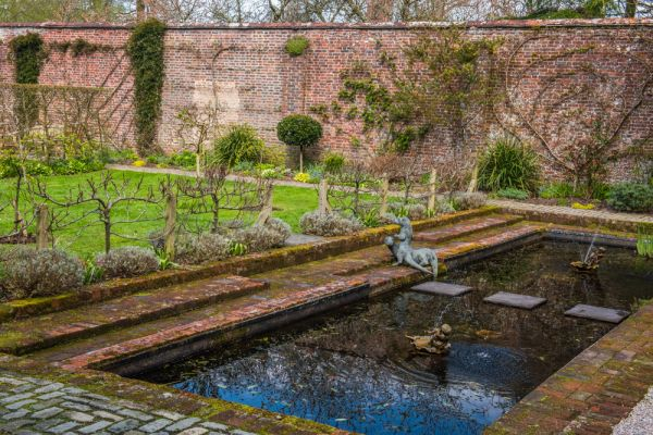 Trewithen photo, The private walled garden