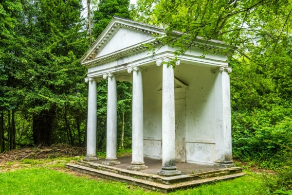 The 18th-century summerhouse in Tring Park