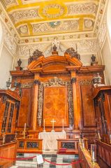 The chapel high altar