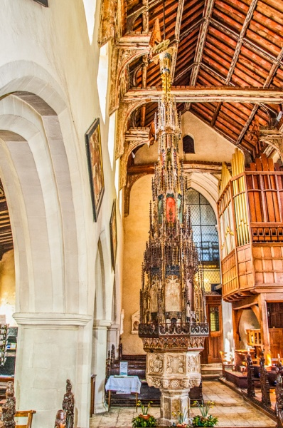 The exceptional 15th century font cover