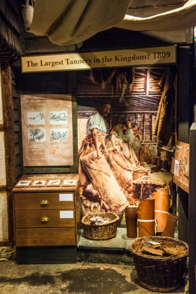 Vale and Downland Museum photo, Historic tannery exhibit