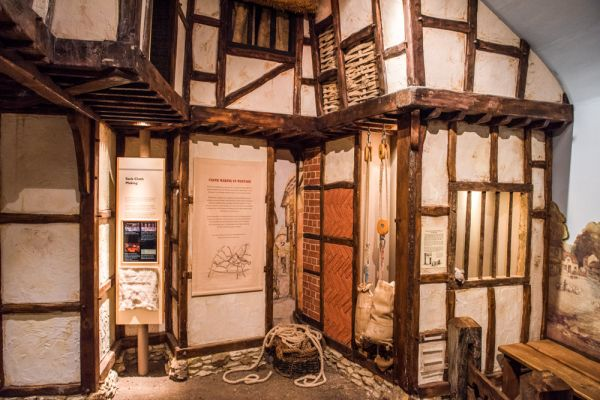 Vale and Downland Museum photo, Medieval Wantage display