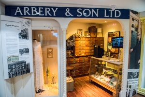 Arbery & Son drapers shop