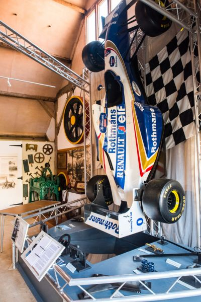 Vale and Downland Museum photo, Williams Formula One race car