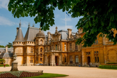 Waddesdon Manor, front entrance