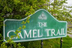 The start of the Camel Trail
