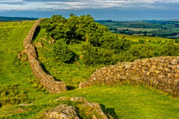Hadrian's Wall photo, Walltown Crags