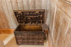 The ancient parish chest