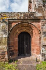 The Romanesque south doorway