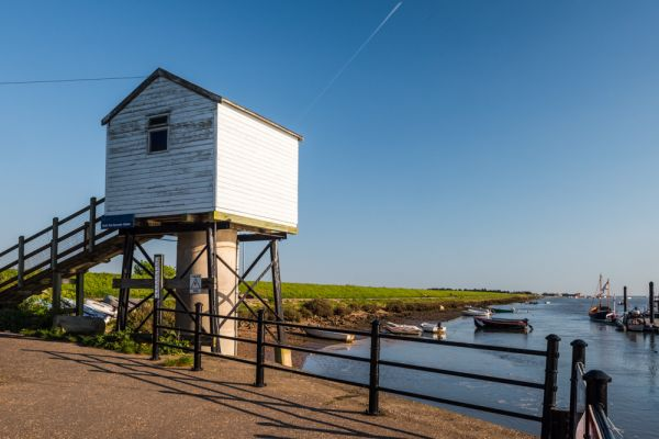 Wells next the Sea photo, The harbour observation tower