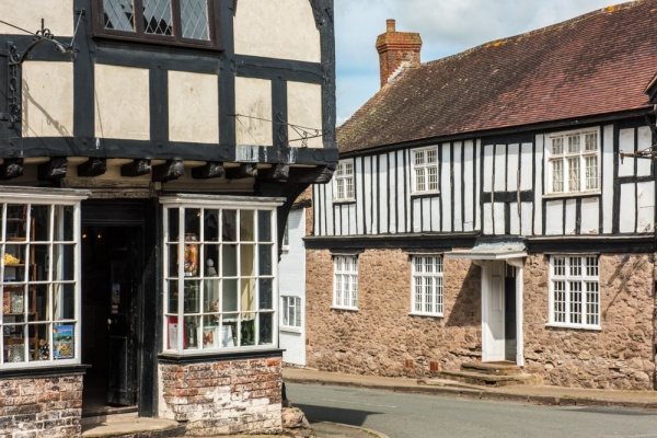 Historic 'Black and White' buildings, Weobley, Herefordshire
