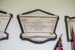 West Tytherley, St Peter's Church, Alexander Thistlethwaite memorial, 1820